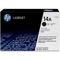 HP CF214A, 14A Toner Cartridge, LaserJet Enterprise 700 - Black Genuine