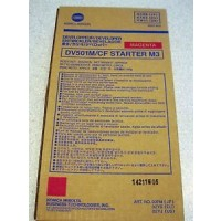 Konica Minolta 8937-859, Developer Magenta, 8050, CF5001- Genuine