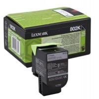 Lexmark 80C20K0, Return Program Toner Cartridge Black, CX310, CX410, CX510- Original