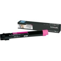 Lexmark X950X2MG, Toner Cartridge Extra HC Magenta, X950, X952, X954- Original