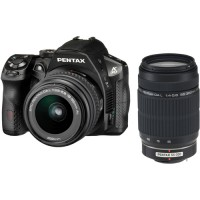 Pentax Imaging K-30 Black Digital SLR Camera + 18-55mm & 55-300mm Lens