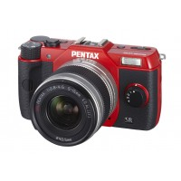 Pentax Imaging Q10 Red Digital System Camera Twin Kit