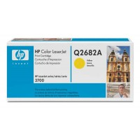 HP Q2682A, Toner Cartridge HC Yellow, 3700- Original
