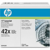HP 1160, 1320, 3390, 3392 Toner Cartridge - HC Black Multipack Genuine (Q5949XD)