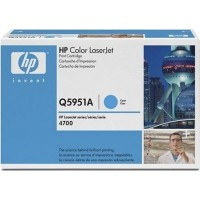 HP Q5951A, Toner Cartridge- Cyan, 4700- Genuine