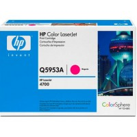 HP Q5953A, Toner Cartridge- Magenta, 4700- Genuine