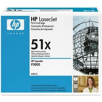 HP Q7551X, Toner Cartridge HC Black, M3027, M3035, P3005- Original