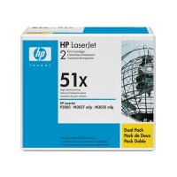 HP Q7551XD, Toner Cartridge HC Black Twinpack, M3027, M3035, P3005- Original