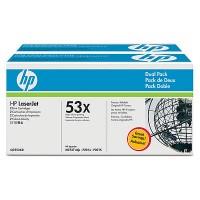 HP M2727, P2014, P2015 Toner Cartridge - Black Genuine Multipack (Q7553XD)