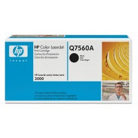 HP Q7560A, Toner Cartridge- Black, 2700, 3000- Genuine