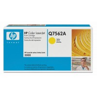 HP Q7562A, Toner Cartridge- Yellow, 2700, 3000- Original
