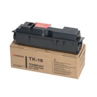 Kyocera FS1018, FS1020, FS1118, KM1815, KM1820 TK18 Toner Cartridge - Black Genuine (370QB0KX)