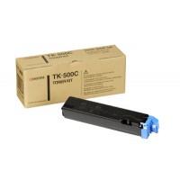 Kyocera Mita TK-500C, Toner Cartridge- Cyan, FS-C5016N- Genuine