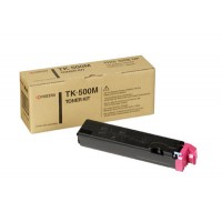 Kyocera Mita TK-500M, Toner Cartridge- Magenta, FS-C5016N- Genuine