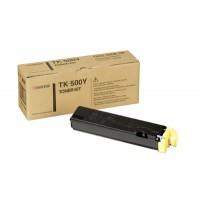 Kyocera Mita TK-500Y, Toner Cartridge- Yellow, FS-C5016N- Genuine