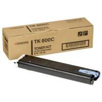 Kyocera Mita TK-800C, Toner Cartridge- Cyan, FS C8008N- Genuine