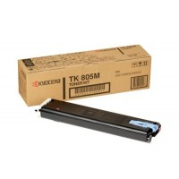 Kyocera Mita TK-805M, Toner Cartridge- Magenta, KM C850- Genuine