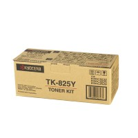 Kyocera Mita TK-825Y, Toner Cartridge- Yellow,  KM C2520, C3225- Genuine