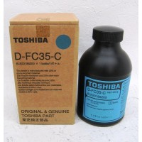 Toshiba D-FC35-C, Developer Cyan, E-Studio 2500C, 3500C, 3510C- Original