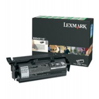 Lexmark X654X11E Toner Cartridge Extra HC Black, X654DE , X656DTE, X615, X650, X658- Genuine