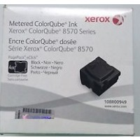 Xerox 108R00949, Solid Ink Metered Black, ColorQube 8570, 8580- Original