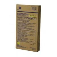 Konica Minolta 8937-858, Developer Yellow, 8050, CF5001, CF8050- Genuine