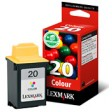 Lexmark 5M0120E No.20 Ink Cartridge - Tri-Colour Genuine