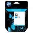 HP C4804A No.12 Ink Cartridge - HC Cyan Genuine