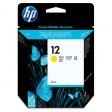 HP C4806A No.12 Ink Cartridge - HC Yellow Genuine