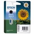 Epson T017 Ink Cartridge - Black Genuine