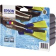 Epson T5846 Ink Cartridge - 4 Colour Photo Pack Genuine
